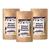 【セット】Natural Healthy Standard.ナチュラルヘルシースタンダード ミネラル酵素グリーンスムージー アサイーバナナ味 160g (2017..