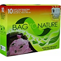 Bag-To-Nature Compositable Lawn And Yard Bag-33GAL LEAF AND YARD BAG (並行輸入品)