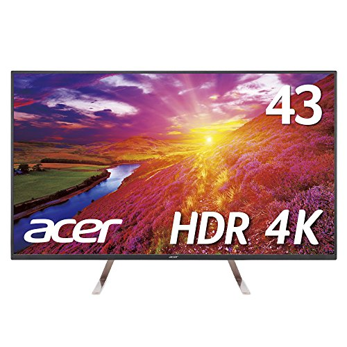 【Amazon.co.jp限定】Acer 4Kモニターディスプレイ ET43...