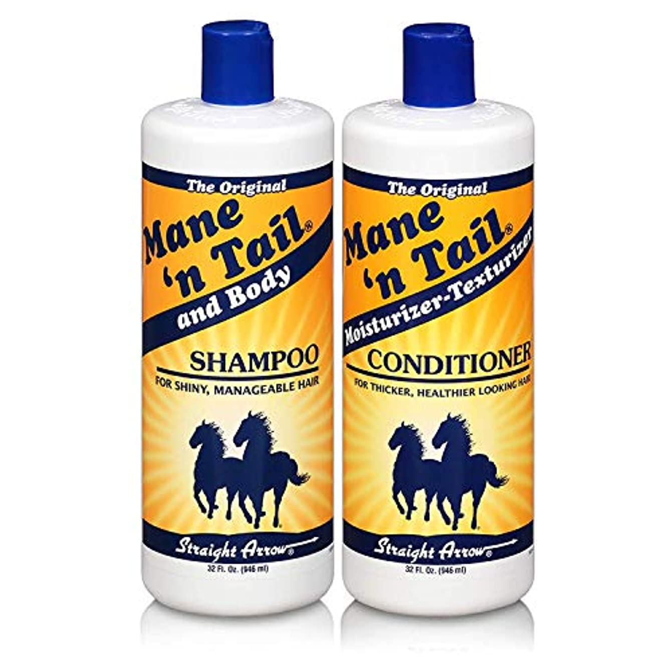 Mane 'n Tail 945 ml Shampoo + 945 ml Conditioner (Combo Deal) (並行輸入品)