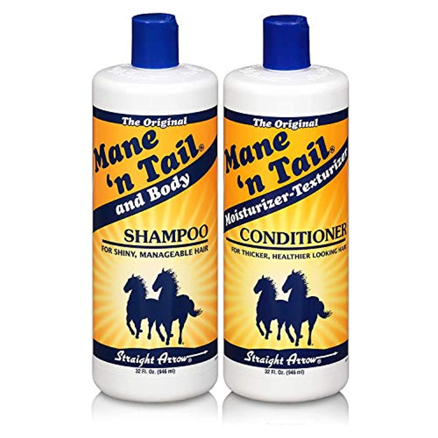 更新する器官フローMane 'n Tail 945 ml Shampoo + 945 ml Conditioner (Combo Deal) (並行輸入品)