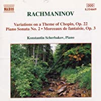 Piano Sonata 2 / Variation on Theme By Chopin