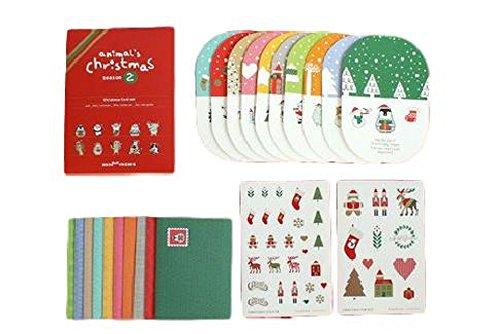 飛び出す クリスマスカード ギ...