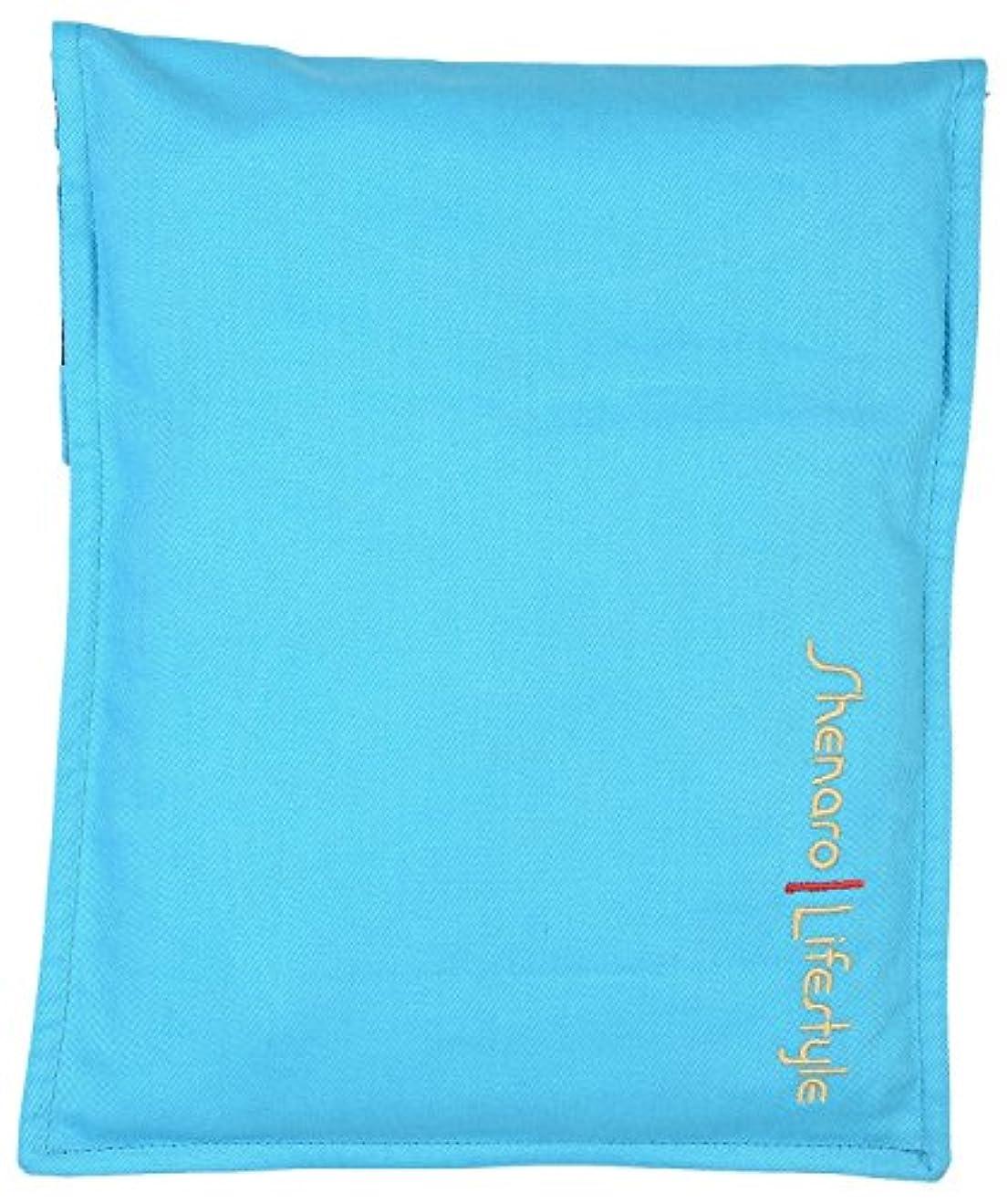 解釈する歩行者列車Shenaro Lifestyle's: Cotton Organic and Eco-Friendly Pain Relief Wheat Bag with Treated Whole Grains and Aroma...