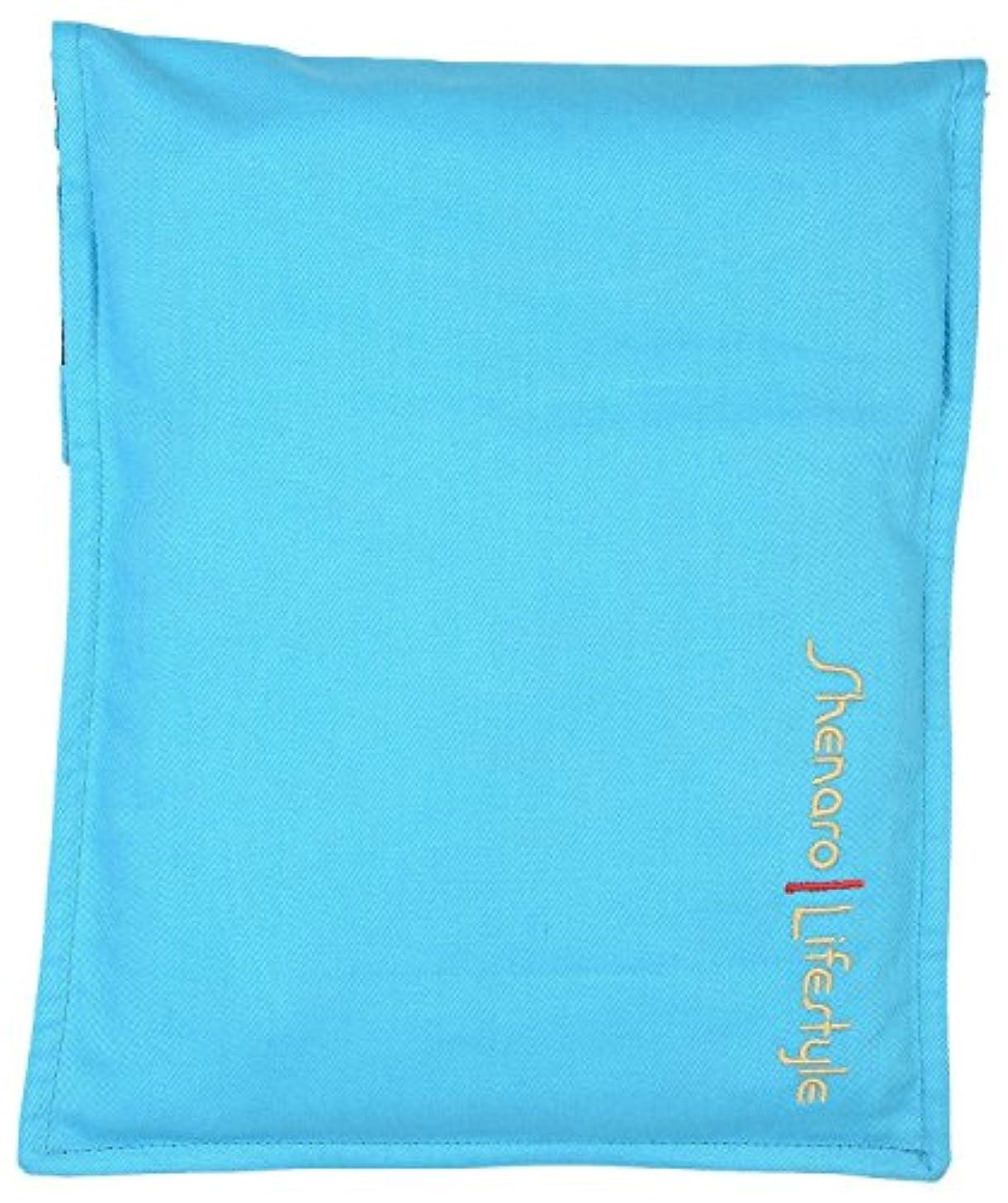 セールスマンナビゲーション感謝しているShenaro Lifestyle's: Cotton Organic and Eco-Friendly Pain Relief Wheat Bag with Treated Whole Grains and Aroma of Lavender