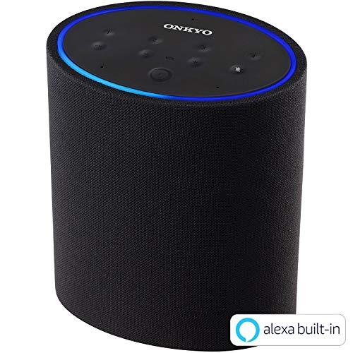 ONKYO スマートスピーカー P3 Amazon Alexa搭載/DTS Play-Fi対応 VC-PX30(B)
