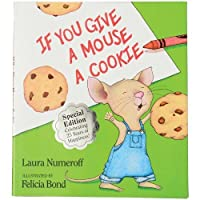 Constructive Playthings HR-89 If You Give A Mouse A Cookie 40 Page Hardcover Book [並行輸入品]