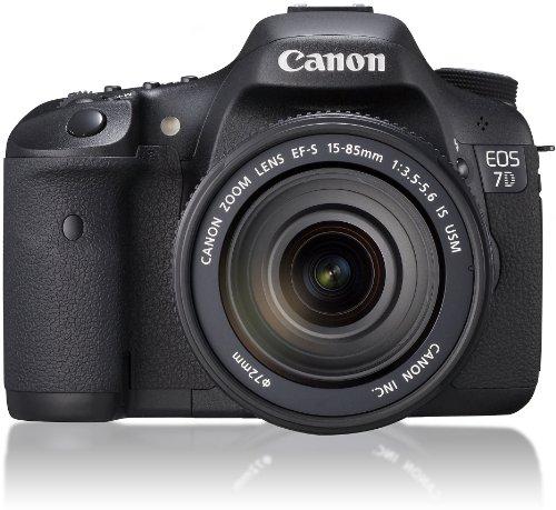 Canon デジタル一眼レフカメラ EOS 7D レンズキットEF-S15-85mm F3.5-5.6 IS USM付属IS EOS7D1585ISLK