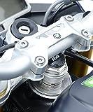 R&G(アールアンドジー) ステアリングヘッドナット ブラック Daytona675(13-15)、R Nine T(14-)、S1000R(14-)、S1000RR(15-)、ZX-10R(16-) RG-YTI0003BK