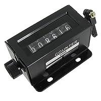DealMux D94-S 0-999999 6桁リセッタ機械はカウンターを引っ張ります