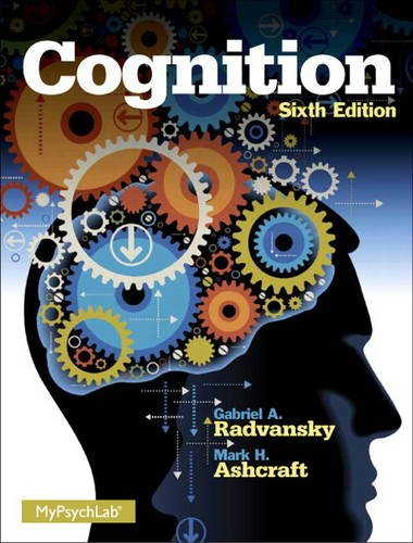 Download Cognition (6th Edition) 0205985807