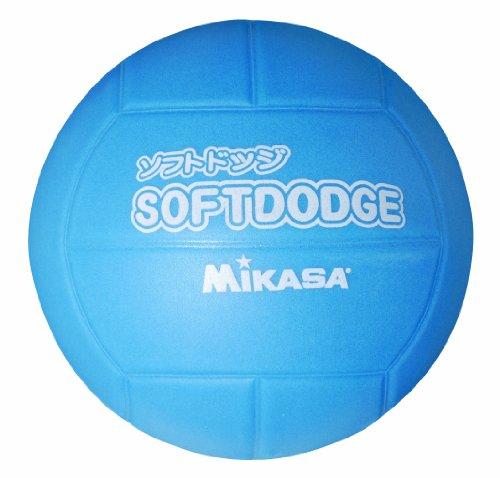 ミカサ ソフトドッジボール ブルー LD-B