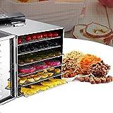 食品乾燥機 6層 ドライフルーツ 野菜ドライヤー 大容量 LCDタッチパネル 業務用 家庭用
