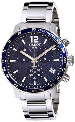 [ティソ] TISSOT 腕時計 クイックスター クオーツ クロノグラフ ブルー文字盤 ブレスレット T0954171104700 メンズ 【正規輸入品】