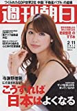 週刊朝日 2011年2月11日 安めぐみ 佐藤すみれ(AKB48) フェイスブック
