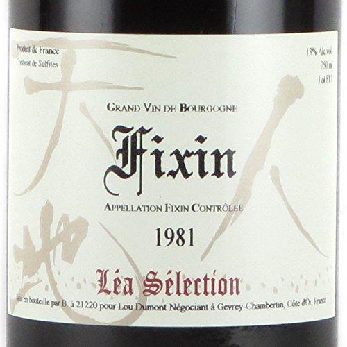 ルー・デュモン・レア・セレクション フィサン・ルージュ 1981 赤ワイン 750ml