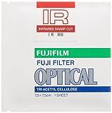 FUJIFILM 光吸収・赤外線透過フィルター(IRフィルター) 単品 フイルター IR 86 7.5 X 1