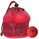 【FST限定モデル】トビエモン(TOBIEMON) ゴルフボール TOBIEMON 視認性抜群! 蛍光マットカラーゴルフボール R&A公認球 2ピース 12球入 オリジナルメッシュバック入 レッド T-AMZ-MR マットレッド