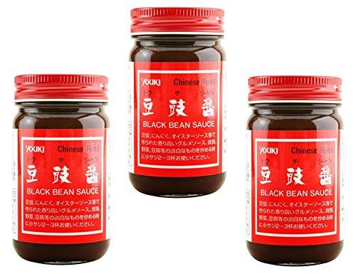 ユウキ食品 豆チ醤(トウチジャン)  130g×3個