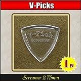 V-PICKS V-SCR Screamer 2.75mm ×1枚 極厚アクリルピック
