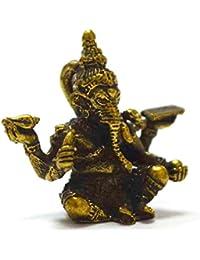 ロードGanehガネーシャ象神HiduタイMini Amulet成功Winすべての障害物