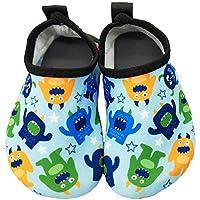 Dream Bridge Kids Toddler Water Shoes Non-Slip Dinosaur Unicorn Swim Shoes for Boys Girls Pool Beach