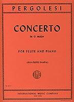 PERGOLESI - Concierto en Sol Mayor para Flauta y Piano (Rampal)