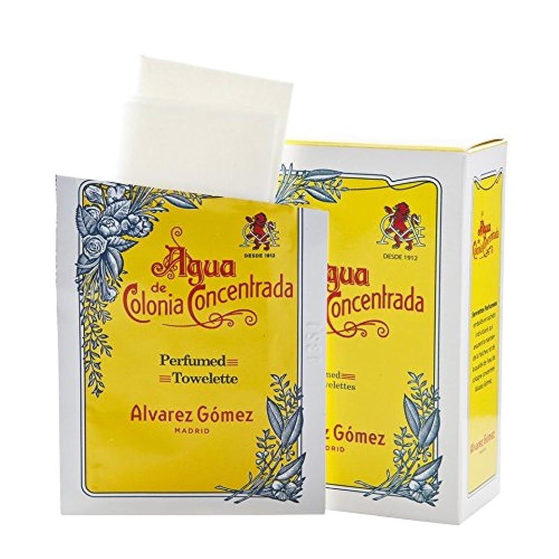 ?lvarez G?mez Agua de Colonia Concentrada Refreshing Wipes - アルバレス?ゴメスアグア?デ?コロニアさわやかなワイプ [並行輸入品]