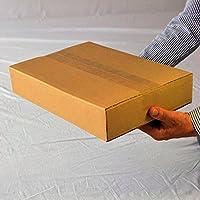 日本製無地60サイズダンボール箱 A4 10枚セット 60サイズ 通販用 小物用 薄型素材
