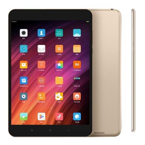 小米平板3 Xiaomi Mi Pad 3 タブレット MIUI 8.0 4GB+64GB MTK8176 Six Core up to 2.1GHz 7.9インチ スクリーン 6600mAh バッテリー ゴールド [並行輸入品]