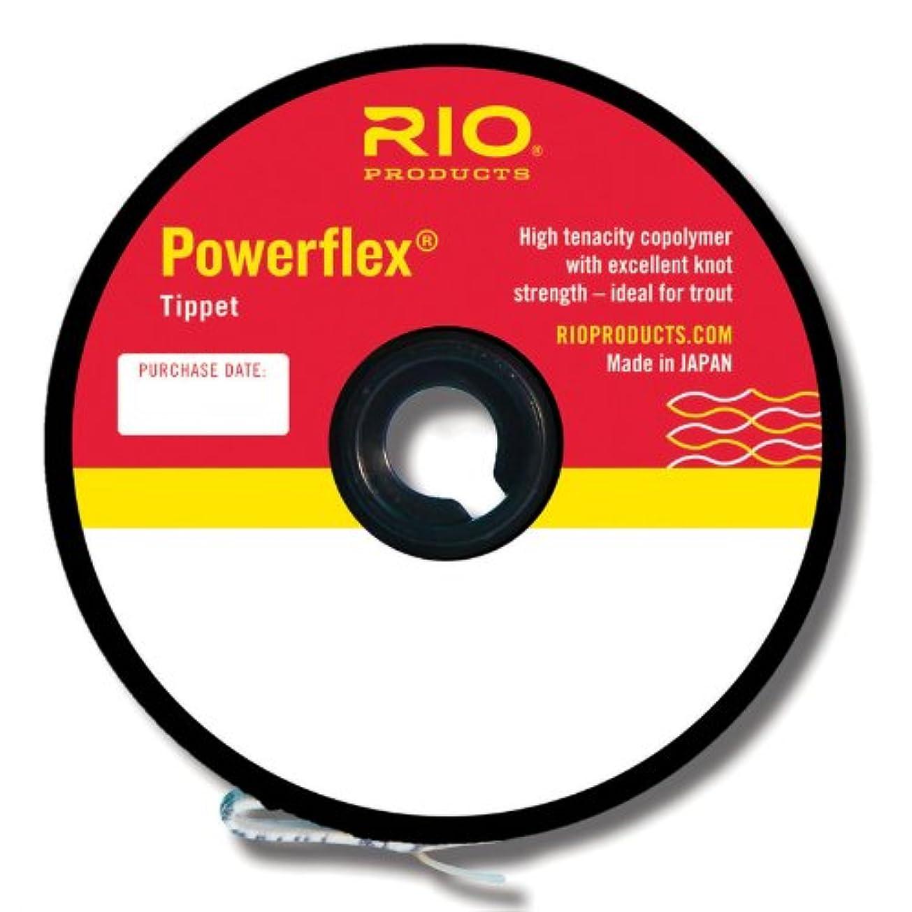 補体反発道路を作るプロセス(110.0 inches, 5x - 2.3kg) - RIO Powerflex Light Grey Double Strength Nylon Fly Fishing Tippet - All Sizes