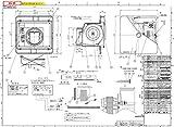 【在庫】 パナソニック Panasonic 換気扇 【GYB349000146】UBF-101W 端子台付 (旧:エア・ウォーター・エモト製)