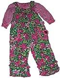 Letop baby-girls Posiesコーデュロイ全体的なW /ニット長袖シャツ US サイズ: S