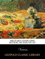 Military Chaplains' Review, DE PAM 165-107