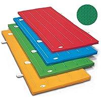 体操マット 滑り止め付 エステルカラーマット 体操カラーマット SGマーク付 90 × 180 × 厚5 cm