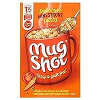 (Mugshot) マグショットパスタミネストローネ60グラム (x6) - Mug Shot Pasta Minestrone 60g (Pack of 6) [並行輸入品]