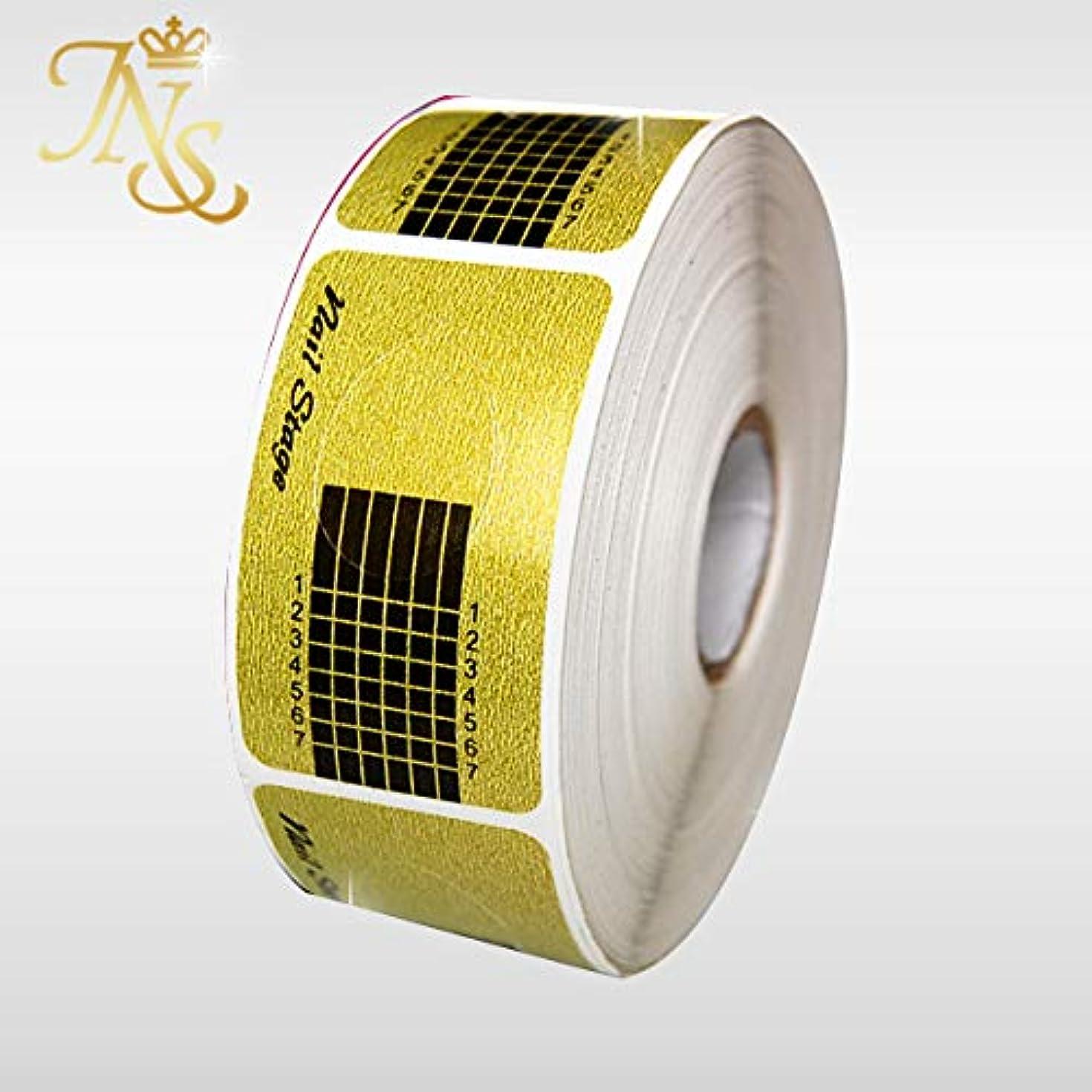 アルバニー傷跡光ネイルフォーム プロ用 高品質 500枚セット