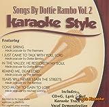 Songs by Dottie Rambo, Vol. 2: Karaoke Style (Daywind Karaoke Style)