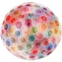 Archangel スマイル スポンジレインボーボール おもちゃ ストレス発散 おもちゃ ストレス解消 楽しいボール about 2.4 inch (6 cm) L