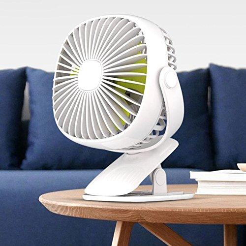 USB扇風機 【3in1多機能】卓上扇風機 静音 強力 おし...