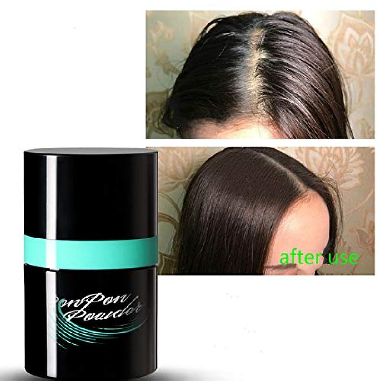 そして対応する能力Rabugoo 女性男性ふわふわ薄いヘアパウダー防塵ヘアスプレー増加ヘアボリュームスタイリングパウダーツール