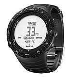 スント(SUUNTO) 腕時計 コア レギュラーブラック 3気圧防水 方位/高度/気圧/水深 [日本正規品 メーカー保証2年] SS014809000