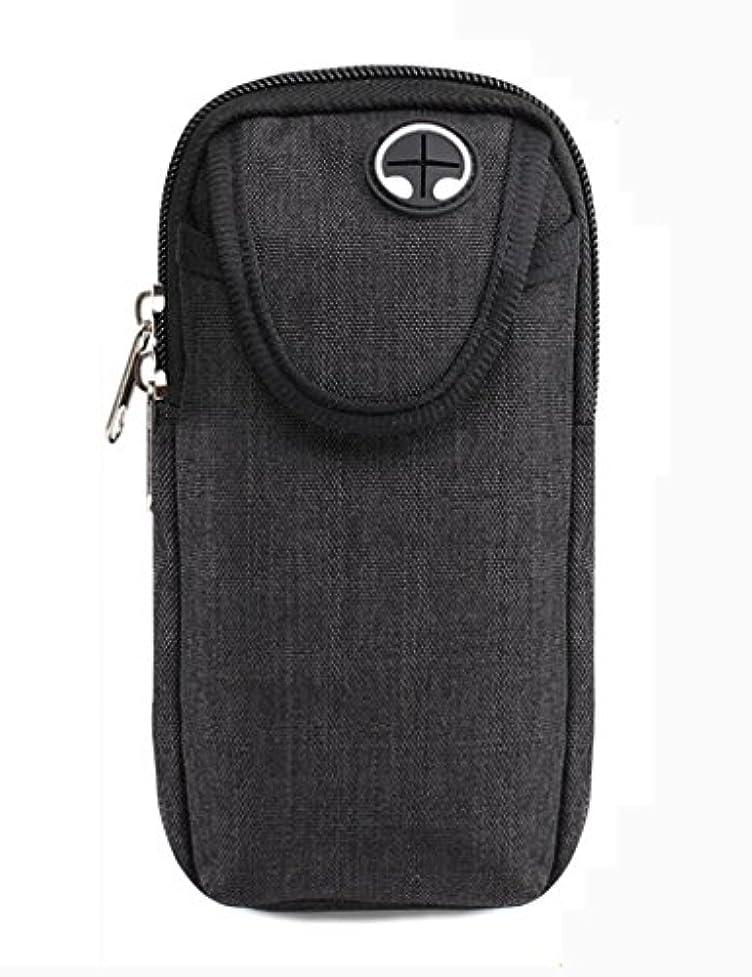 余分な聞きますベルTH 屋外電話アームバッグ電話装置アームバッグムーブメントアーム手首バッグ防水バックパック フィットネスベルト ( 色 : ブラック , サイズ さいず : L l )