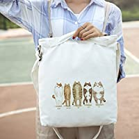 Mrs.L Store 肩掛け 手提げ袋 バッグ 猫 萌え かわいい ファッション デート