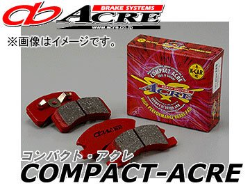 アクレ/ACRE ブレーキパッド フロント コンパクトアクレ 388 eKワゴン/ekスポーツ/ekクラッシィ H81W