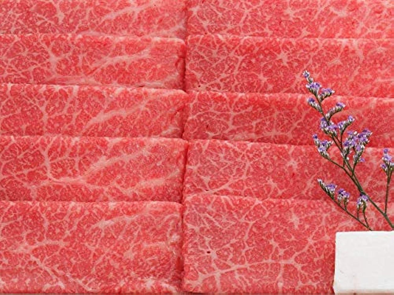 咽頭真珠のような識字【米沢牛卸 肉の上杉】 米沢牛赤身 すき焼き用 500g ギフト用桐箱仕様