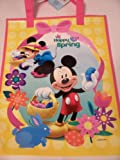 """Disney Mickey and Minnieトートバッグ~ Happy Spring ( 12"""" x 15"""" )"""