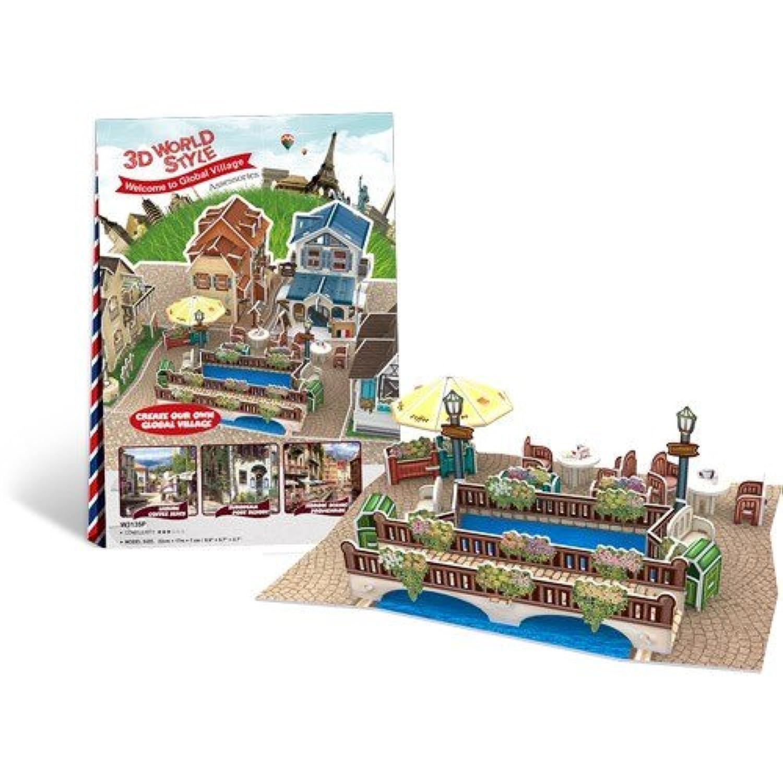 CubicFun 3d Puzzle - World style series deco 3