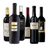 【厳選】濃い味フルボディ 果実味たっぷり濃厚赤ワイン飲み比べ6本セット 750ml×6本 [フランス/赤ワイン/辛口/フルボディ/6本]