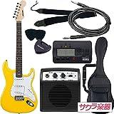 SELDER セルダー エレキギター ストラトキャスタータイプ サクラ楽器オリジナル ST-16/YW 初心者入門ベーシックセット